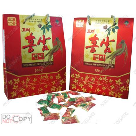 Kẹo Hồng Sâm Hàn Quốc KGS 550g