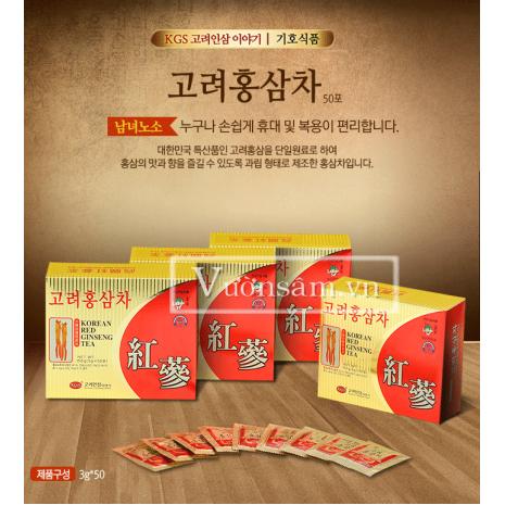 Trà Hồng Sâm Hàn Quốc KGS 50 Gói