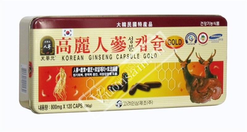 Viên Hồng Sâm Hàn Quốc Tổng Hợp G-03