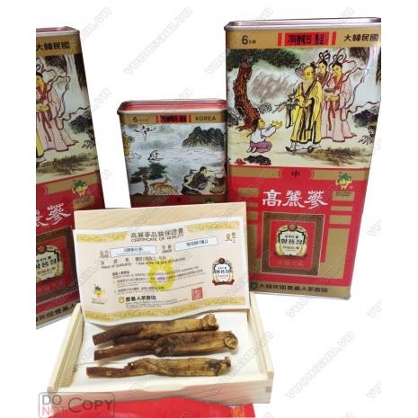 Hồng Sâm Khô Dạng Củ Punggi Củ Nhỏ ( 16-25 củ )