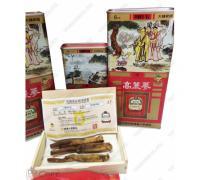 Sâm Punggi Nguyên Củ Khô 300g Củ Trung ( 21-30 củ)